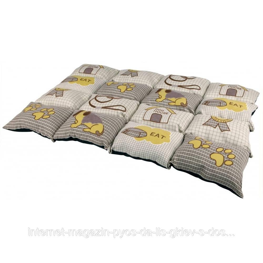 Trixie Patchwork Blanket матрац для собак серый 100х70см