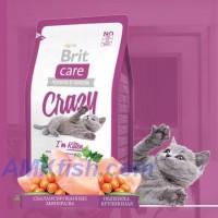 Brit Care Cat Crazy Im Kitten корм для кошенят з куркою та рисом, 400г
