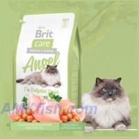 Brit Care Cat Angel Im Delighted Senior корм для пожилых кошек (старше 7 лет) гипоаллергенный, 7кг