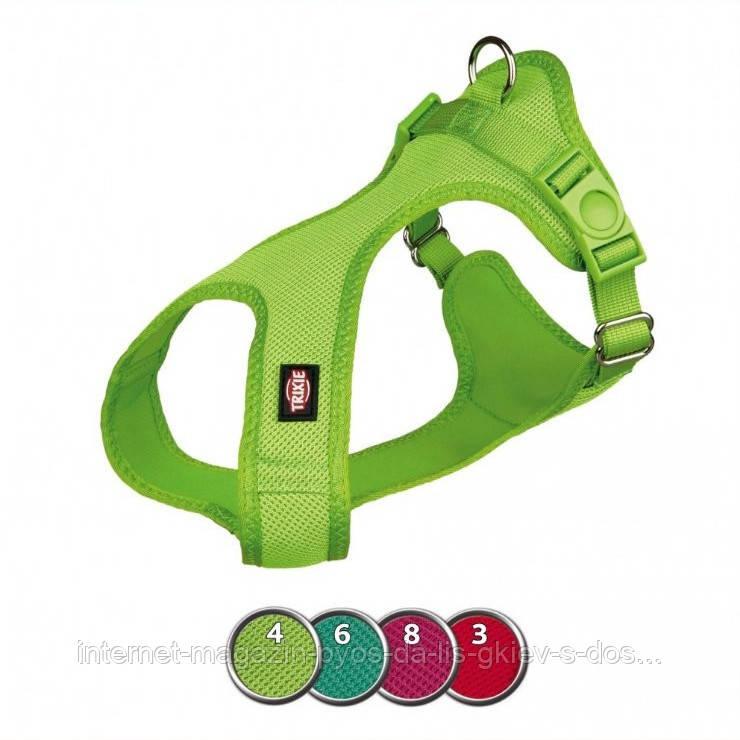Trixie Soft Harness XXS-XS шлея мягкая для собак 25-35см, 15мм