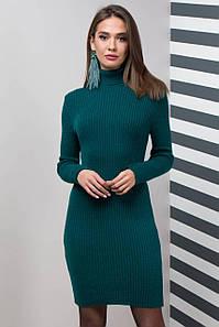 Теплое офисное платье Basic