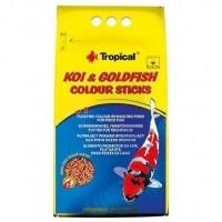 Tropical KOI & GoldFish Color Sticks основной окрашивающий корм в виде палочек, 10л