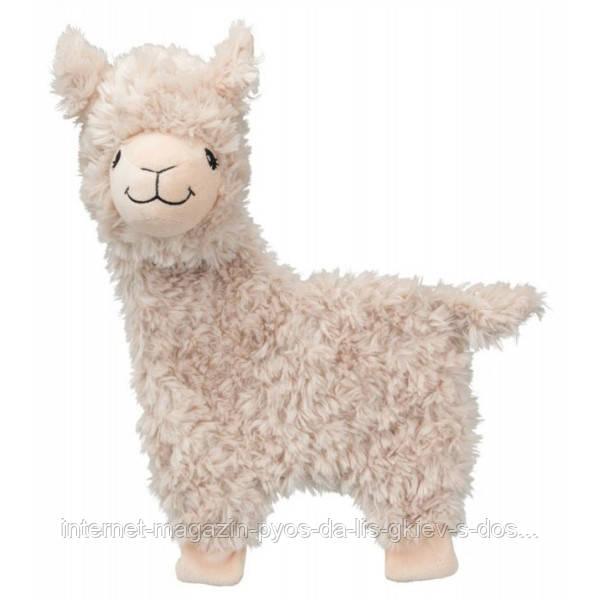 Trixie Lama игрушка для собак шуршащая плюшевая лама 40см