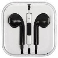 Гарнитура для мобильных телефонов Apple; планшетов Apple; MP3-плееров Apple, черная, TRRS 3.5 мм