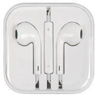 Гарнитура для мобильных телефонов Apple; планшетов Apple; MP3-плееров Apple, белая, TRRS 3.5 мм