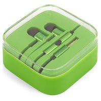 Гарнитура EN50332-2, вакуумная, зеленая, TRRS 3.5 мм