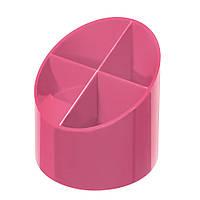 Підставка для ручок Herlitz Colour Blocking Indonesia Pink рожева (50015856)