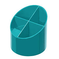 Подставка для ручек Herlitz Colour Blocking Caribbean Turquoise бирюзовая  (50015849)