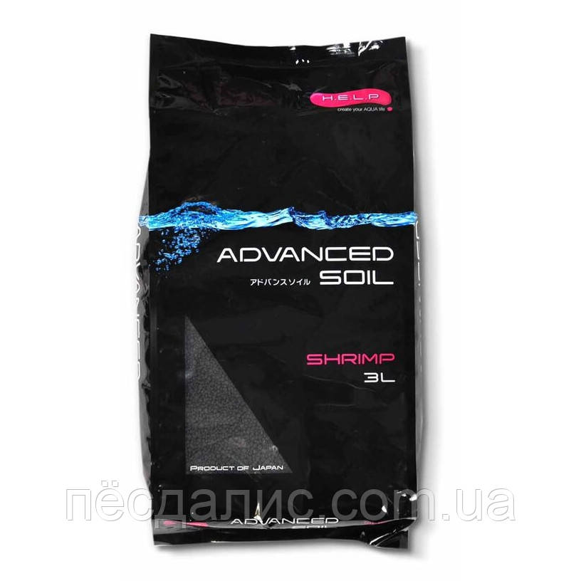 Aquael H.E.L.P. ADVANCED SOIL SHRIMP специализированный грунт для креветочников, 3л