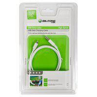 USB дата-кабель Bilitong, USB тип-A, Lightning, 150 см, белый