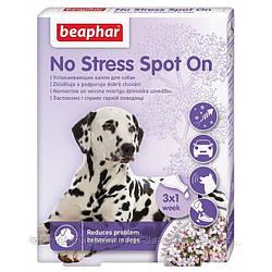 Beaphar No Stress Spot On успокоительные капли от стресса и плохого поведения для собак, 1упак.3 пип