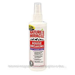8in1 Natures Miracle House breaking cпрей для приучения щенка к туалету 237мл