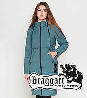 Braggart Youth | Зимняя женская куртка 25495 светлая бирюза 42 44 46 48 50 размеры