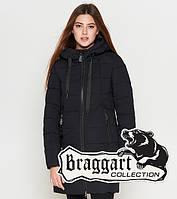 Braggart Youth | Куртка зимняя женская 25435 черная 42 46 48 50 размеры