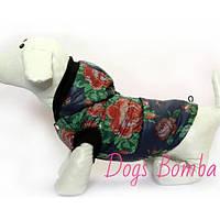 Жилетка для собак Роза DogsBomba