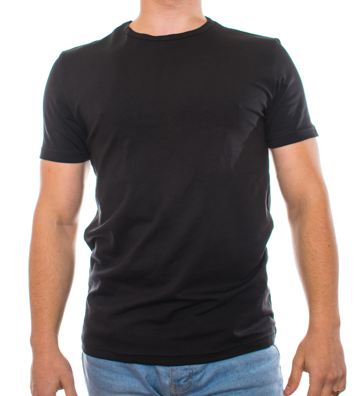 Bono Футболка мужская черная 950101