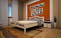 Кровать Юлия 1 90х190 см. Тис