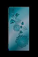 """Металокерамічний дизайн-обігрівач UDEN-S """"Блакитний лотос"""", фото 1"""