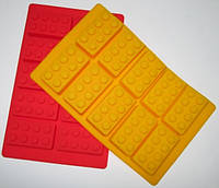 Силиконовая форма 19*12 см, Лего Кубики