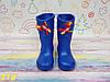 Детские резиновые сапоги непромокаемые голубые, фото 3