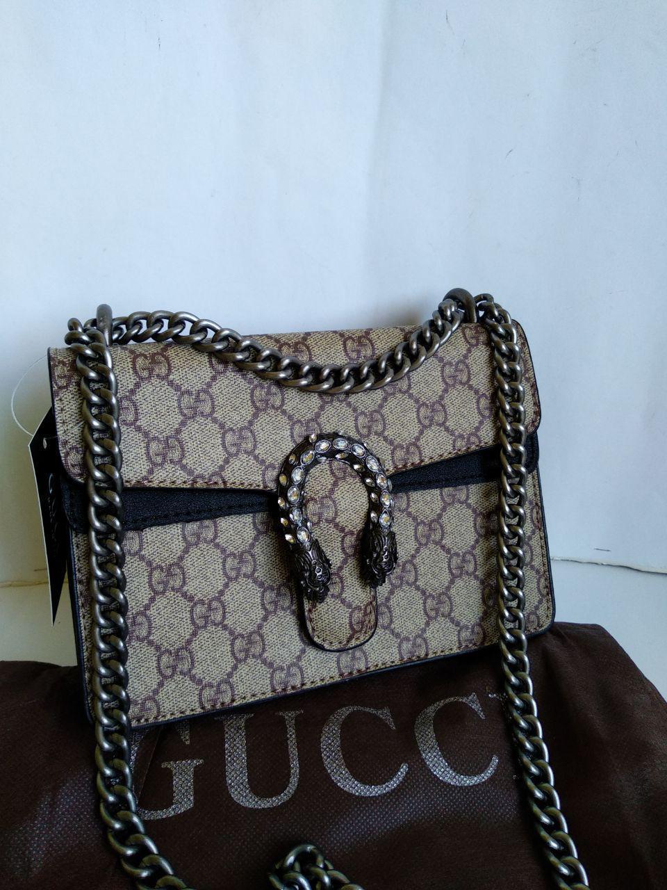 a7d7eaee Женская сумочка в стиле Gucci Гуччи - Интернет-магазин