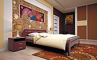 Кровать Новая 1 90х190 см. Тис