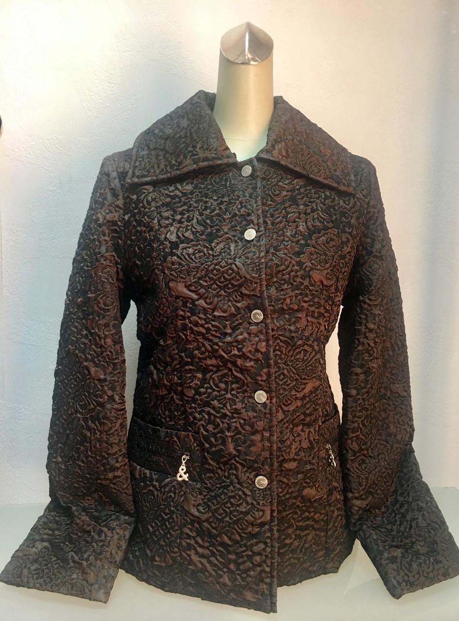 Куртка  женская D&G демисезонная жатая