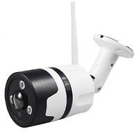 """Уличная IP Wi-Fi камера VR-360° """"бело-чёрная КРУГ"""""""