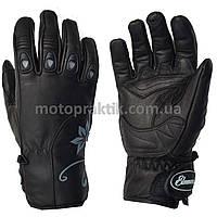 Elemento 206 Lady Gloves Blk/Gry, L Мотоперчатки жіночі, фото 1