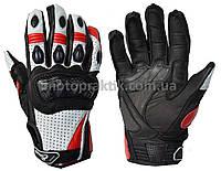 Elemento 188 Free Ride Gloves Blk/Wht/Red, L Мотоперчатки дорожные, фото 1