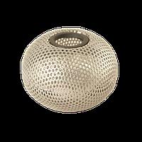 Металлическая магнитная подставка для скрепок шар, серебро