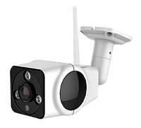 "Уличная IP Wi-Fi камера VR-360° ""бело-чёрная КВАДРАТ"", фото 1"
