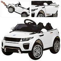 Детский электромобиль Land Rover Style M 3213 EBLR-1: 2.4G. EVA-колеса, Кожа - БЕЛЫЙ-купить оптом , фото 1