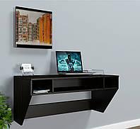 """Стол компьютерный навесной  """"AirTable-II DB Mini"""" (Венге) 110х52х50 см., фото 1"""