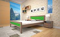 Кровать Модерн 6 90х190 см. Тис