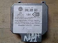 Блок управления AirBag Фольксваген Транспортер / Volkswagen Transporter IV (1990-2003)  6N0909603  5wk4137