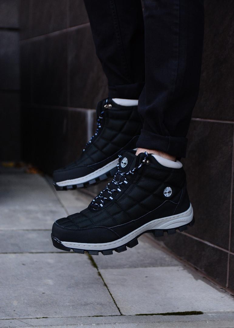 Мужские черные зимние ботинки Timberland, черные ботинки timberland, черные ботинки, ботинки timberland