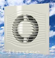 Вентилятор 100мм с обратным клапаном и тяговым выключателем AkvaVent - Slim4-02