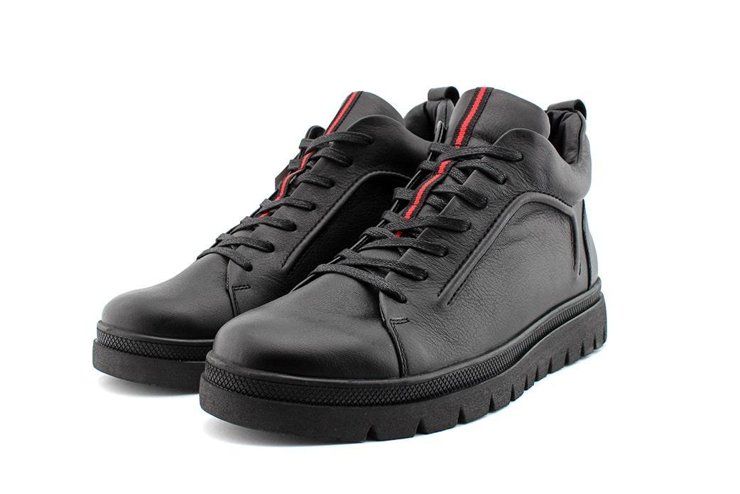 Мужские зимние ботинки Box&Co кожа.
