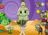 Растения против зомби КАПУСТА. 116-122 см. Детские костюмы