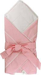 Силиконовое одеяло-конверт для новорожденных  Розовый