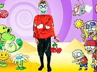 Растения против зомби Вишня двойная. 116-122 см. Детские костюмы
