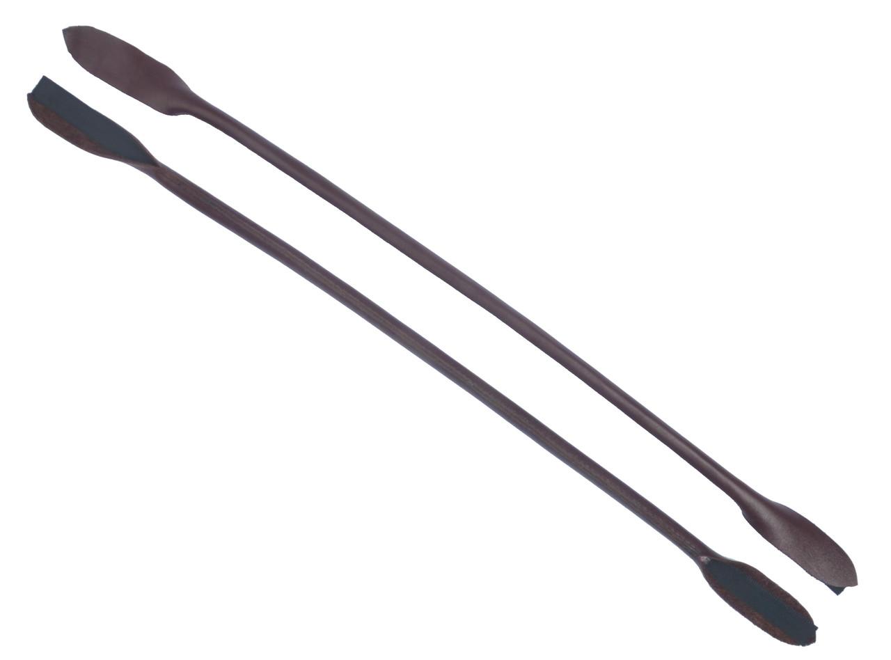 Ручки для сумок, кожа, цв. бордовый, р. 41/59*1,2 см