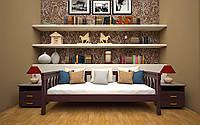 Деревянная детская кровать Рондо 3 80х190 см. Тис