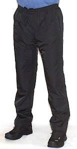 Мужские утепленные спортивные штаны плащевка+флис Avic