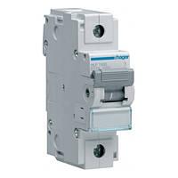 Однополюсный автоматический выключатель Hager 10kA 80-125А