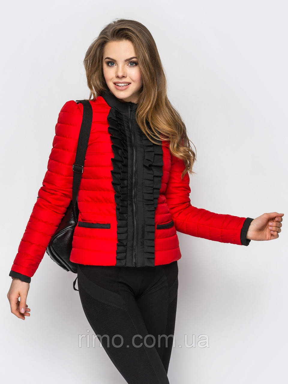 Куртка демисезонная женская Рюша (9 цветов)