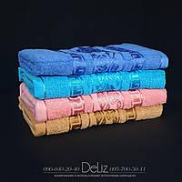 Однотонное банное полотенце 683. Размер 140х70. 100% хлопок, качество отличное