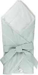 Хлопковое одеяло-конверт для новорожденных