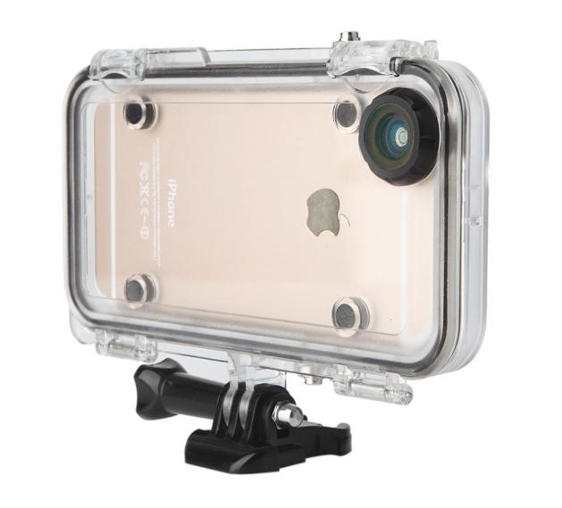 Подводный чехол аквабокс Hamtod для Apple iPhone 5 / 5S / SE - Black - Интернет магазин PRIMO в Запорожье